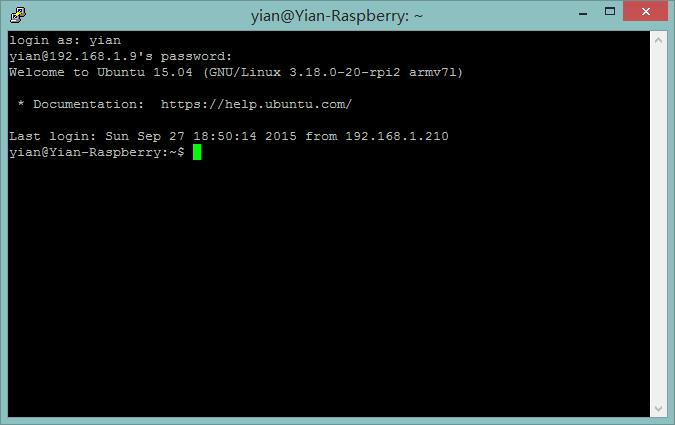 ssh登录树莓派.jpg